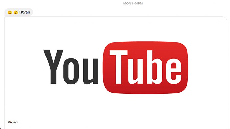 لینک قابل کلیک یوتیوب