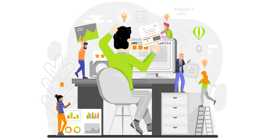 پرورش سئو: طراحی مجدد وب سایت کار گروهی