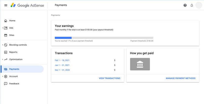 تنظیم اطلاعات پرداخت