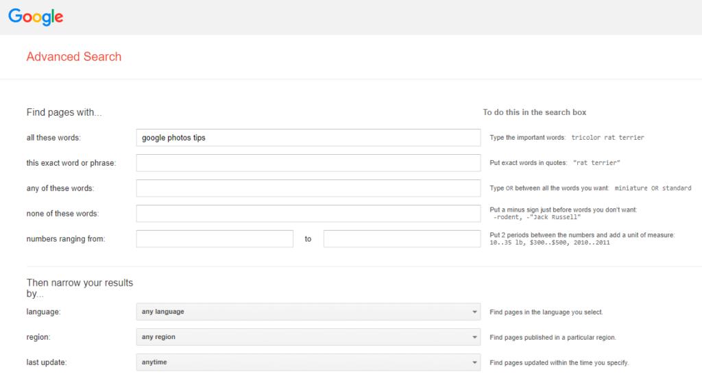 آموزش سرچ حرفه ای گوگل با استفاده از Google Image