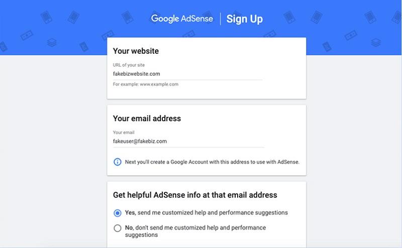 کسب درآمد از گوگل ادسنس با ایجاد حساب گوگل ادسنس