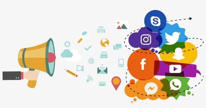 تبلیغ سایت توسط شبکه های اجتماعی