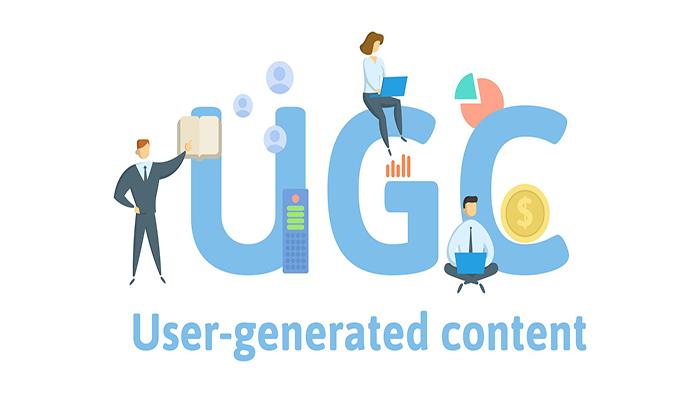 UGC، به معنای محتوای تولید شده توسط کاربر.